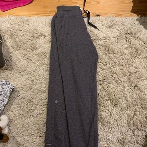 Lululemon grey joggers